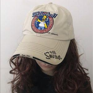Simpsons • Y2K Drunk Homer Beer Strapback Dad Hat